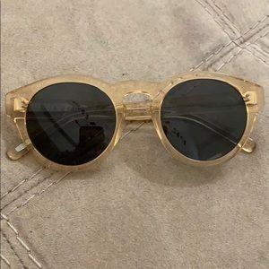 Raen yellow/clear sunglasses